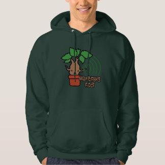 Cartoon Screaming Mandrake Character Art Hoodie