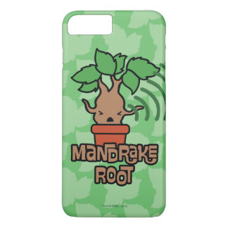 Cartoon Screaming Mandrake Character Art iPhone 8 Plus/7 Plus Case