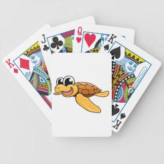 Cartoon Sea Turtle Bicycle Card Decks