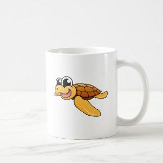 Cartoon Sea Turtle Coffee Mug