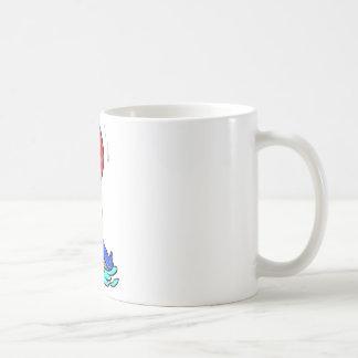 Cartoon seal coffee mug