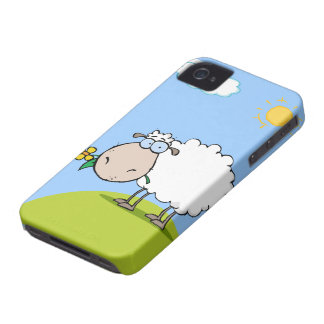 Cartoon Sheep iPhone 4 Case