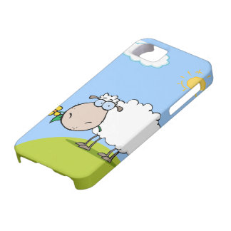 Cartoon Sheep iPhone 5 Case