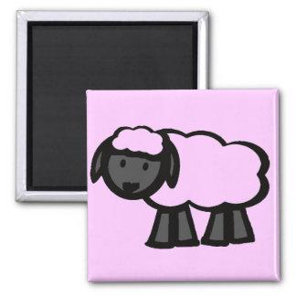 Cartoon Sheep Refrigerator Magnet