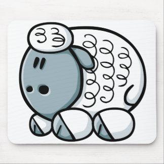 Cartoon Sheep Mouse Mat