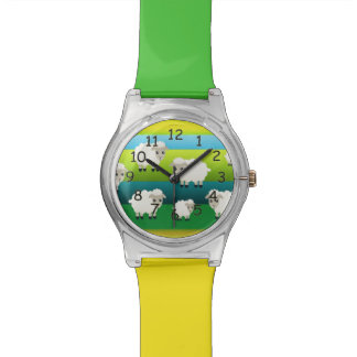 Cartoon Sheep Wrist Watch