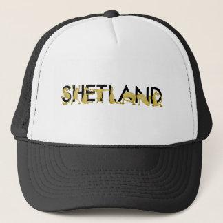 Cartoon Shetland pony Trucker Hat