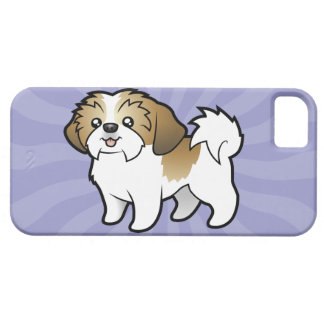 Cartoon Shih Tzu (puppy cut) Barely There iPhone 5 Case