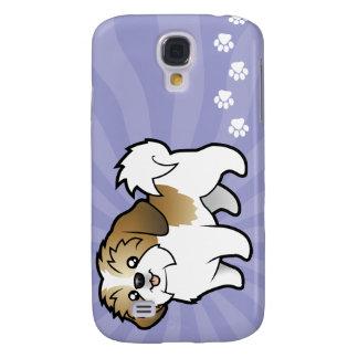 Cartoon Shih Tzu (puppy cut) Galaxy S4 Case