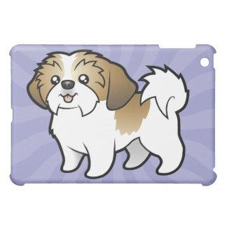 Cartoon Shih Tzu (puppy cut) iPad Mini Cases