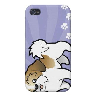 Cartoon Shih Tzu (puppy cut) iPhone 4/4S Case