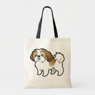 Cartoon Shih Tzu (puppy cut) Tote Bag