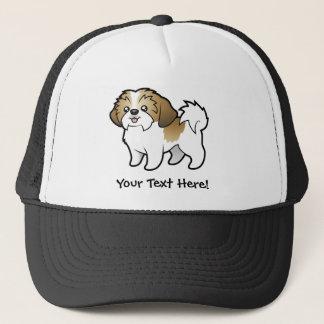 Cartoon Shih Tzu (puppy cut) Trucker Hat