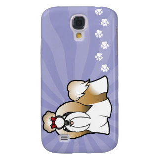 Cartoon Shih Tzu (show cut) Galaxy S4 Case