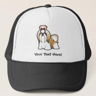 Cartoon Shih Tzu (show cut) Trucker Hat