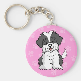 Cartoon ShihTzu Keychain