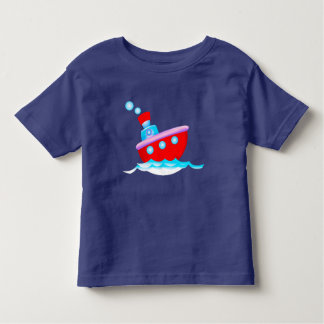 Cartoon ship toddler T-Shirt