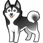 Cartoon Siberian Husky / Alaskan Malamute