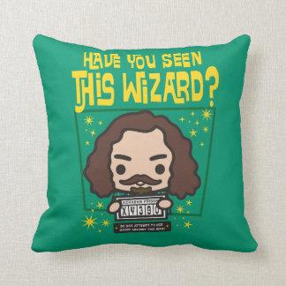 Cartoon Sirius Black Wanted Poster Graphic Cushion