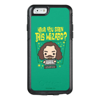 Cartoon Sirius Black Wanted Poster Graphic OtterBox iPhone 6/6s Case