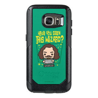 Cartoon Sirius Black Wanted Poster Graphic OtterBox Samsung Galaxy S7 Case