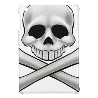 Cartoon Skull and Crossbones Jolly Roger iPad Mini Cases