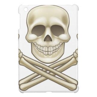 Cartoon Skull and Crossbones Pirate Thumbs Up iPad Mini Cases