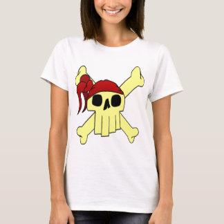 CARTOON SKULL AND CROSSBONES T-Shirt