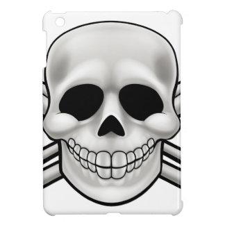 Cartoon Skull and Thumbs Up Crossbones Case For The iPad Mini