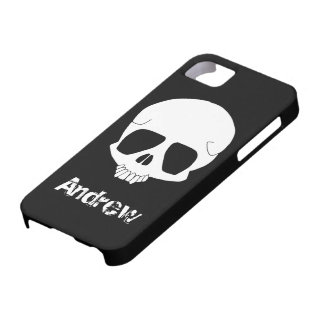 Cartoon Skull iPhone 5 Cover Template