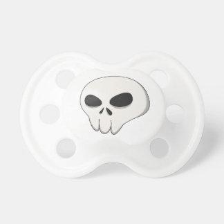 cartoon skull pacifier