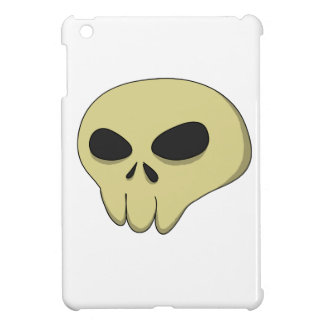 Cartoon skull sepia case for the iPad mini