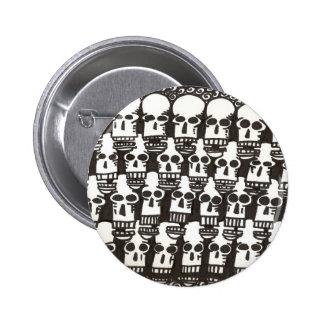 Cartoon Skulls button