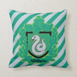 Cartoon Slytherin Crest Cushion