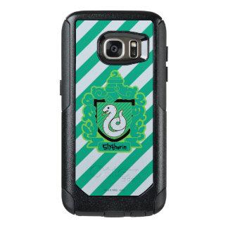 Cartoon Slytherin Crest OtterBox Samsung Galaxy S7 Case