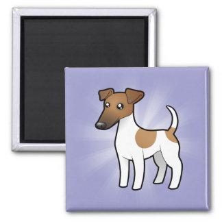 Cartoon Smooth Fox Terrier Magnet
