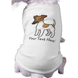 Cartoon Smooth Fox Terrier Shirt