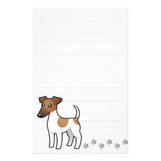 Cartoon Smooth Fox Terrier Stationery