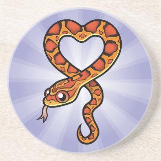 Cartoon Snake Coaster