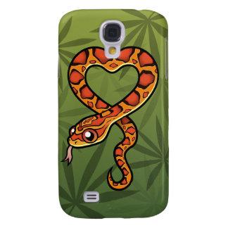 Cartoon Snake Galaxy S4 Case