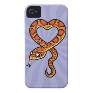 Cartoon Snake iPhone 4 Cases