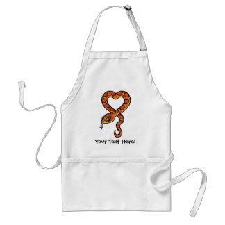 Cartoon Snake Standard Apron