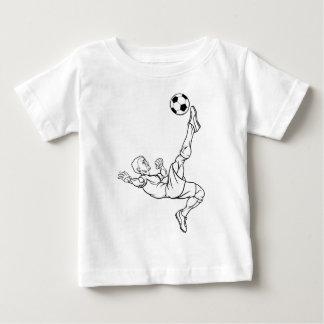 Cartoon Soccer Football Player Baby T-Shirt