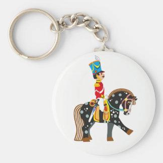 cartoon soldier key ring
