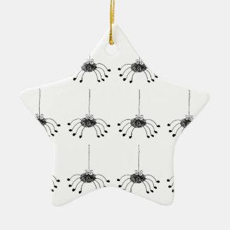 Cartoon spider christmas ornament