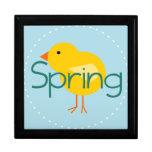 Cartoon Spring Bird Gift Boxes