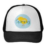 Cartoon Spring Bird Mesh Hat