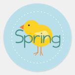 Cartoon Spring Bird Sticker