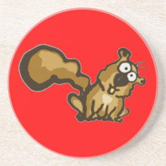 Cartoon Squirrel Coaster