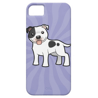 Cartoon Staffordshire Bull Terrier iPhone 5 Cases